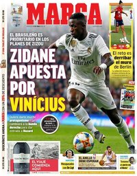 capa Jornal Marca de 12 junho 2019