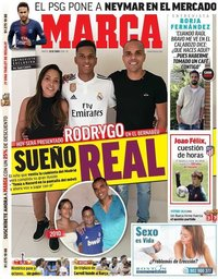 capa Jornal Marca de 18 junho 2019
