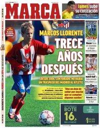 capa Jornal Marca de 21 junho 2019