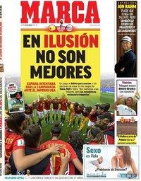 capa Jornal Marca de 24 junho 2019