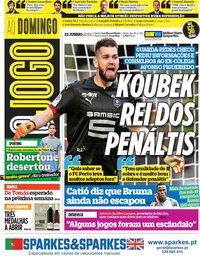 capa Jornal O Jogo de 23 junho 2019