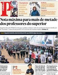 capa Público de 2 junho 2019