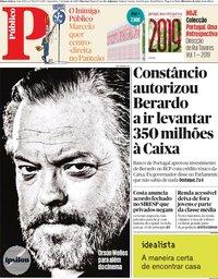 capa Público de 7 junho 2019