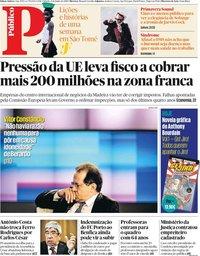 capa Público de 8 junho 2019