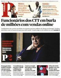 capa Público de 9 junho 2019
