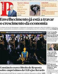 capa Público de 13 junho 2019