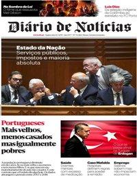 capa Diário de Notícias de 11 julho 2019