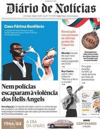 capa Diário de Notícias de 13 julho 2019