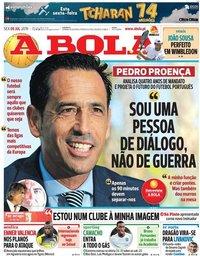 capa Jornal A Bola de 5 julho 2019