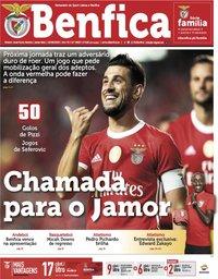 capa Jornal Benfica de 16 agosto 2019