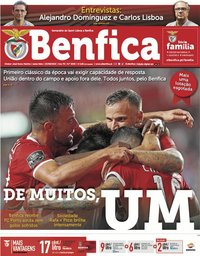 capa Jornal Benfica de 23 agosto 2019