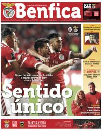 capa Jornal Benfica de 1 fevereiro 2018
