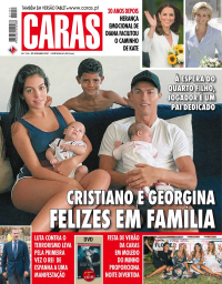capa Revista Caras de 2 setembro 2017