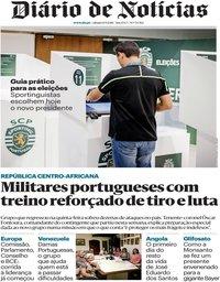 capa Diário de Notícias de 8 setembro 2018
