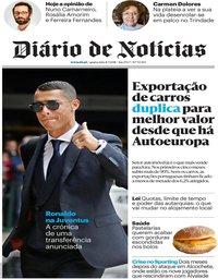 capa Diário de Notícias de 11 julho 2018