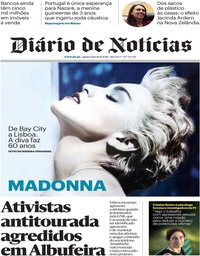 capa Diário de Notícias de 16 agosto 2018