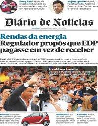 capa Diário de Notícias de 17 julho 2018