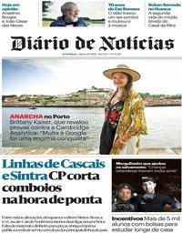 capa Diário de Notícias de 21 julho 2018