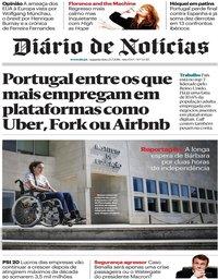capa Diário de Notícias de 23 julho 2018