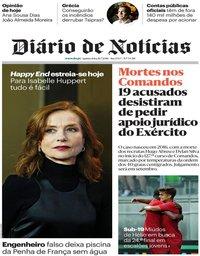 capa Diário de Notícias de 26 julho 2018