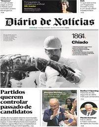 capa Diário de Notícias de 26 agosto 2018