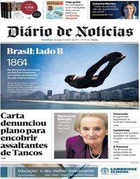 capa Diário de Notícias de 30 setembro 2018