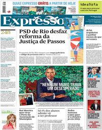 capa Expresso de 7 julho 2018