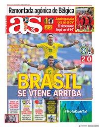capa Jornal As de 3 julho 2018