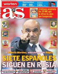 capa Jornal As de 5 julho 2018