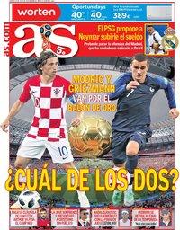 capa Jornal As de 13 julho 2018