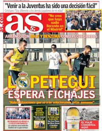 capa Jornal As de 17 julho 2018