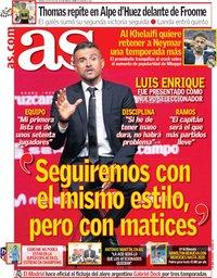 capa Jornal As de 20 julho 2018