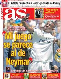 capa Jornal As de 21 julho 2018