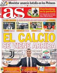 capa Jornal As de 24 julho 2018