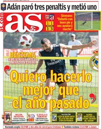 capa Jornal As de 27 julho 2018