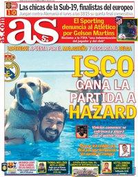capa Jornal As de 28 julho 2018