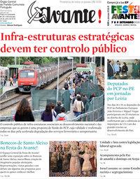 capa Jornal Avante de 26 julho 2018