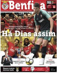 capa Jornal Benfica de 1 junho 2018
