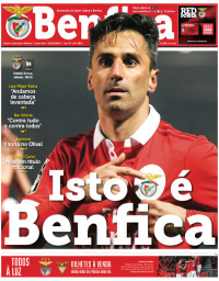 capa Jornal Benfica de 2 março 2018