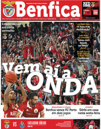 capa Jornal Benfica de 4 abril 2018