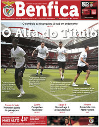 capa Jornal Benfica de 6 julho 2018