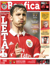 capa Jornal Benfica de 8 março 2018