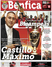 capa Jornal Benfica de 8 junho 2018