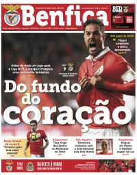 capa Jornal Benfica de 9 fevereiro 2018