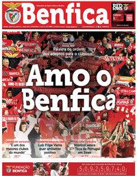 capa Jornal Benfica de 15 abril 2018