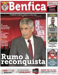 capa Jornal Benfica de 15 junho 2018