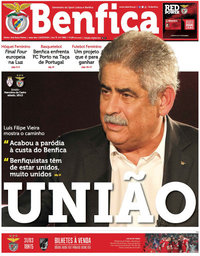 capa Jornal Benfica de 17 março 2018