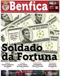 capa Jornal Benfica de 18 maio 2018