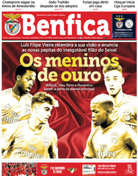 capa Jornal Benfica de 19 outubro 2018