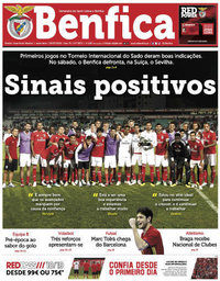capa Jornal Benfica de 20 julho 2018